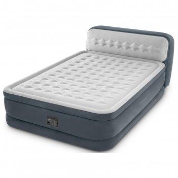 Кровать надувная ultra plush 152х236х86 см, с встр. насосом 220-240v, 6444