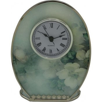 Часы jardin dete акварель, cталь, стекло, 12,1 х 16,3 х 5 см,