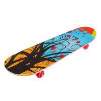Скейтборд нв-209, размер 82x21 см, колеса pvc d= 50 мм