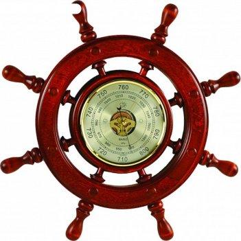 Штурвал сувенирный с2 барометр
