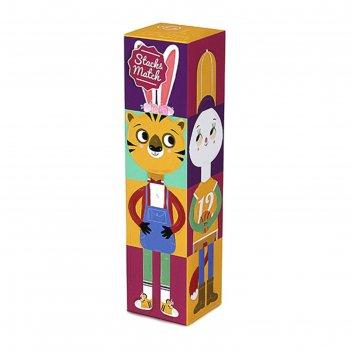 Кубики животные stack&match
