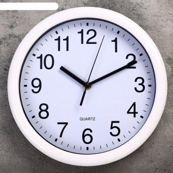 Часы настенные, серия: классика, кальбе d=27 см, дискретный ход