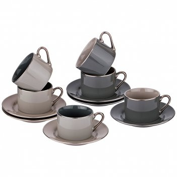 Чайный набор, 12 пр на 6 персон 200мл