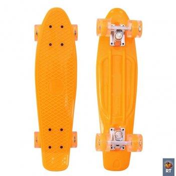146314 скейтборд classic 22″ 56×15 yqhj-11 пластик с