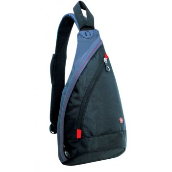 Рюкзак wenger «mono sling» с одним плечевым ремнем, цв. черн