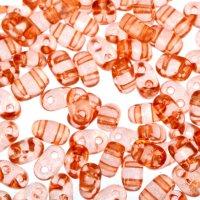 Бисер gamma 2,5х5мм (т055 т. оранжевый)