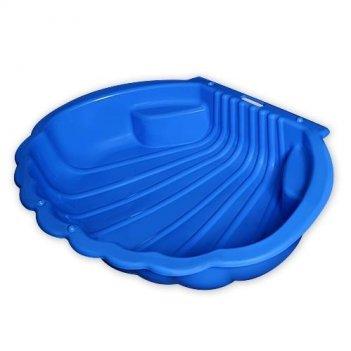 Песочница ракушка 1249 синяя