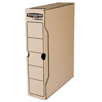 Короб архивный bankers box basic 80x260x312, гофрокартон