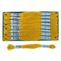 Мулине, №5165, 8м, ярко-жёлтый