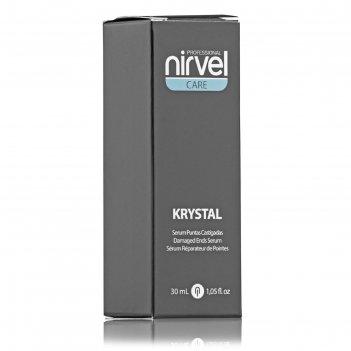 Сыворотка для восстановления кончиков волос nirvel professional krystal, 3