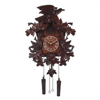 Настенные часы с кукушкой columbus орел и галка cq-068