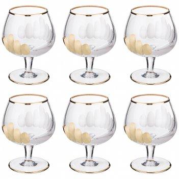 Набор бокалов для коньяка из 6 шт. 200 мл. высота=11 см.