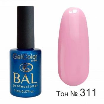 Гель-лак каучуковый bal gelcolor №311, 11 мл