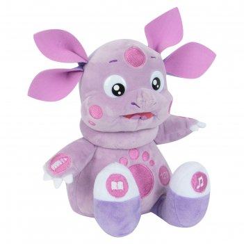 Мягкая музыкальная игрушка «лунтик», кушает с ложечки,10 функций, 24 см