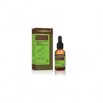 Ревитализирующее масло-концентрат для волос compliment marula oil & biotin