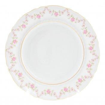 Набор тарелок leander соната мелкие цветы 19 см(6 шт)
