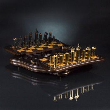 Шахматы рыцарь и стимпанк kadun