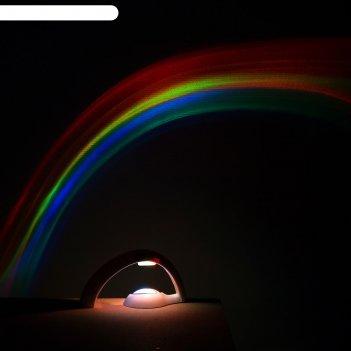 Ночник радуга, от батареек 4*ааa (не в компл.)