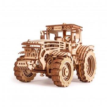 Механический 3d-пазл из дерева «трактор»