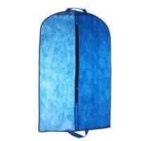 Чехол для одежды 120х60 см, полузакрытый, цвет синий
