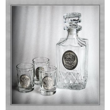Набор для водки 280 россия арт. ншт41280ро-13