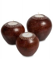 36-001 набор свечей ароматы спа (о.бали)