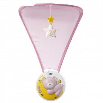 Мобиль chicco next2moon, цвет розовый
