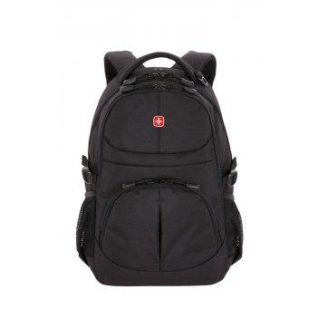 Рюкзак swissgear чёрный, полиэстер, 33х15х45 см, 22 л