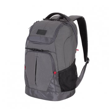 Рюкзак wenger 19, серый, полиэстер 900d/рипстоп, 30,5x19,5x48см, 28л