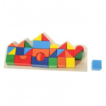Конструктор фигурный строй замки