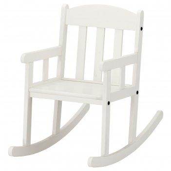 Кресло-качалка детское сундвик, белый
