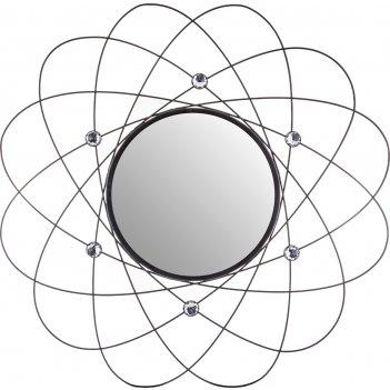 Зеркало настенное диаметр=54 см. зеркала=25 см.