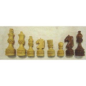 S024-400 набор шахматных фигурок (индия)