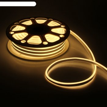Гибкий неон двухсторонний 8 х 18 мм, 25 метров, led-120-smd2835, 220 v, те
