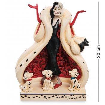 Disney-6005970 фигурка круэлла де виль (101 далматинец)