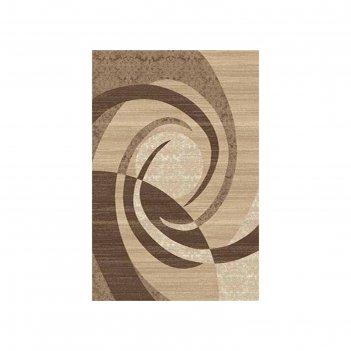 Ковёр карвинг хит-сет mega carving d264, 1*2 м, прямоугольный, beige