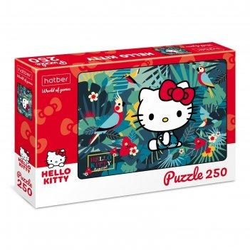 Пазл 250 элементов hello kitty