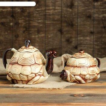Чайная пара черепаха