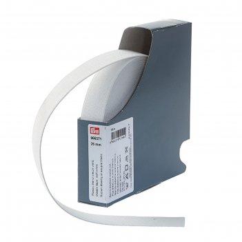 Мягкая эластичная лента 25 мм*10м, цвет белый