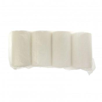 Бумажные полотенца стандарт, 2 слоя, 4 шт.