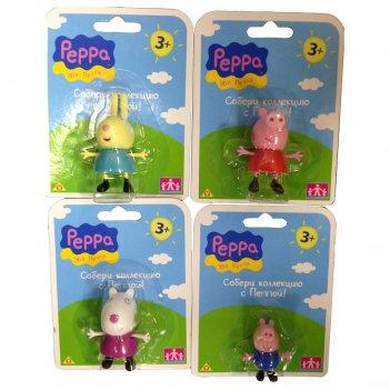 Игровой набор peppa pig. любимый персонаж, 4 фигурки
