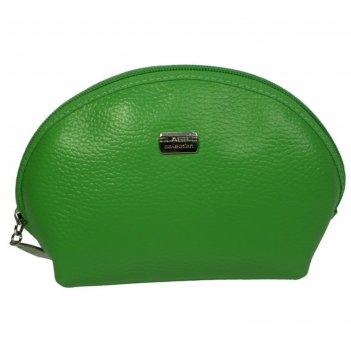 Косметичка f-91-322, 19*6,5*11,5, 1 отд на молнии, зеленый