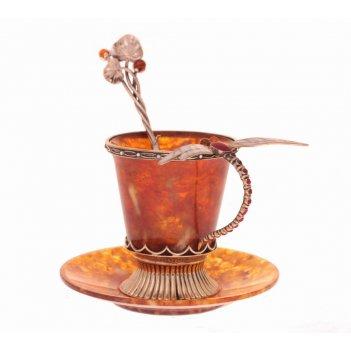Чашка кофейная стрекоза