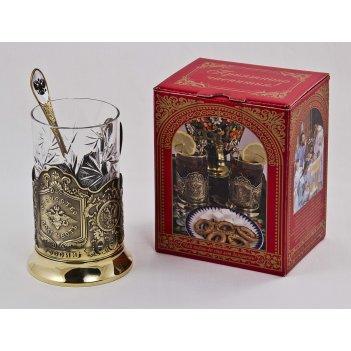 Набор для чая отечество (3 пр.) арт. пд-91 к-л