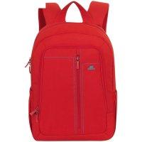 Рюкзак для ноутбука 15,6 rivacase 7560 42,5*31*11,5см, полиэстер, красный