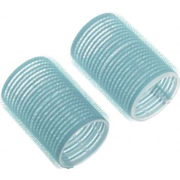 Бигуди-липучки dewal beauty голубые d 28ммx63мм(10шт/упак)