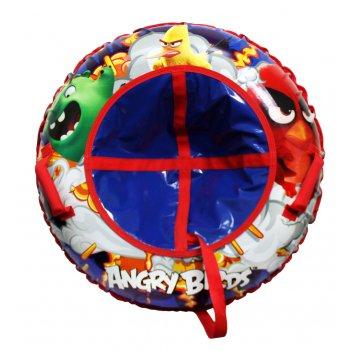 1toy angry birds тюбинг - надувные сани,резин.автокамера, материал глянцев