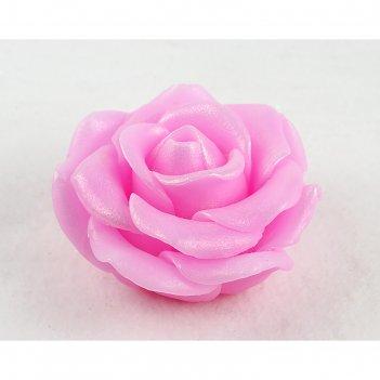 Силиконовая форма для мыла роза голд
