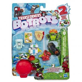 Transformers. игровой набор 8 ботов из садовой банды