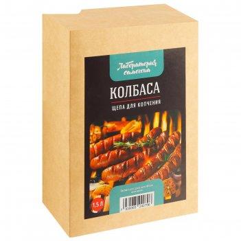 Щепа для копчения 300 г. продукт колбаса
